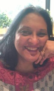 Interview with writer Abha Iyengar - photo by Vinod A. Iyengar