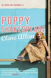 Writer Clare Allan Book Cover - Poppy Shakespeare