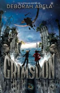 Writer Deborah Abela Book Cover - Grimsdon