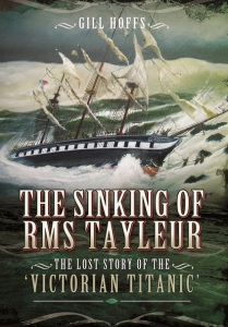 Writer Gill Hoffs Book Cover - The Sinking of RMS Tayleur