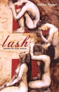 Poet Haidee Kruger Book Cover - Lush