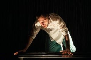 Troy Larkin in Jane Miller's play Motherfucker - photo by Sarah Walker