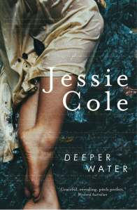 Book cover shot of Deeper Water by Jessie Cole