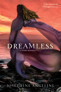 Writer Josephine Angelini Book Cover - Dreamless