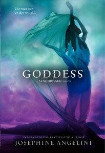 Writer Josephine Angelini Book Cover - Goddess