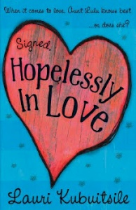 Writer Lauri Kubuitsile Book Cover - Signed, Hopelessly in Love