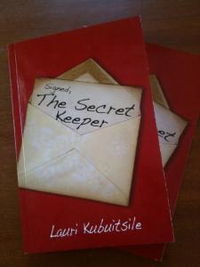 Writer Lauri Kubuitsile Book Cover - Signed, The Secret Keeper