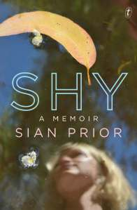 Writer Sian Prior Book Cover - Shy