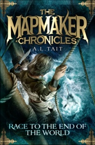 Writer Allison Tait Book Cover - The Mapmaker Chronicles