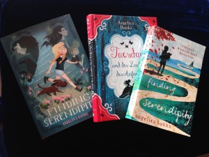 Writer Heather Rose Book Covers x3 - Finding Serendipity