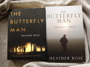 Writer Heather Rose Book Cover - The Butterfly Man
