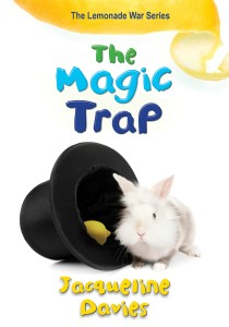 Writer Jacqueline Davies Book Cover - The Magic Trap
