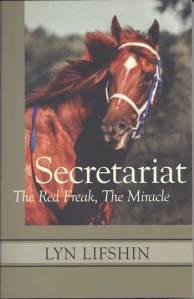 Poet Lyn Lifshin Book Cover - Secretariat