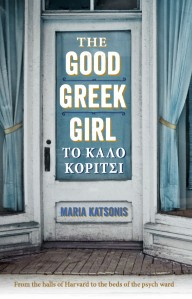 Writer Maria Katsonis Book Cover - The Good Greek Girl