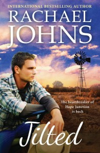 Writer Rachael Johns Book Cover - Jilted