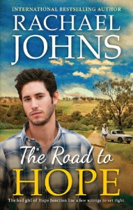 Writer Rachael Johns Book Cover - The Road to Hope
