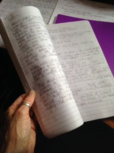 Rosie Garland's notebook