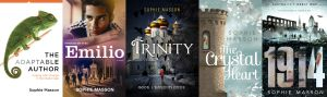 5 books published by Sophie Masson in 2014