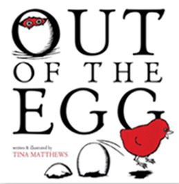 Writer Tina Matthews Book Cover - Out of the Egg
