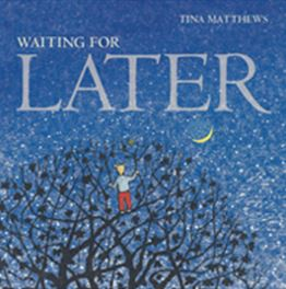 Writer Tina Matthews Book Cover - Waiting for Later