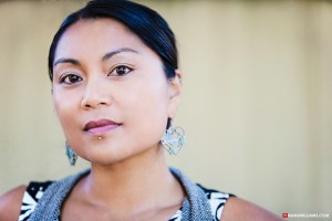 Interview with poet and performer Aimee Suzara by Nicole Melanson - photo by Namu Williams