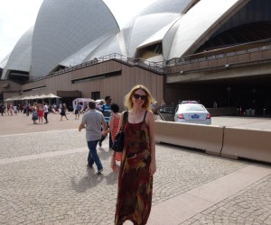 Nicole Melanson WordMothers Editor at Sydney Opera House for All About Women - International Women's Day 2015