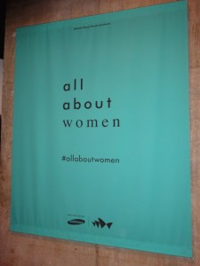 All About Women poster inside Sydney Opera House
