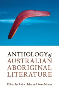 Writer Anita Heiss Book Cover - Anthology of Australian Aboriginal Literature
