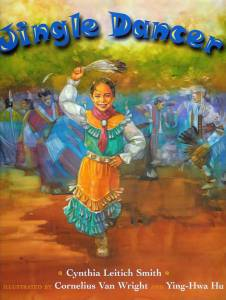 Writer Cynthia Leitich Smith Book Cover - Jingle Dancer