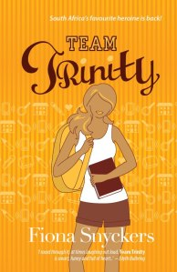 Writer Fiona Snyckers Book Cover - Team Trinity
