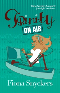 Writer Fiona Snyckers Book Cover - Trinity on Air