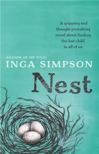 Writer Inga Simpson Book Cover - Nest
