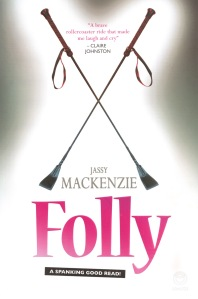 Writer Jassy Mackenzie Book Cover - Folly