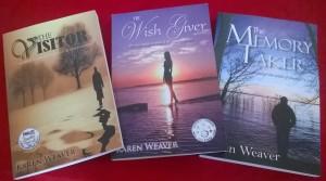 Writer Karen Weaver Book Covers