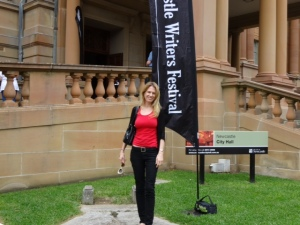 Newcastle Writers Festival 2015 Nicole Melanson from WordMothers