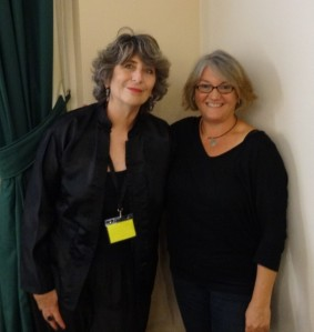 P. M. Newton and Wendy James at Newcastle Writers Festival 2015