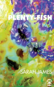 Poet Sarah James Book Cover - plenty-fish