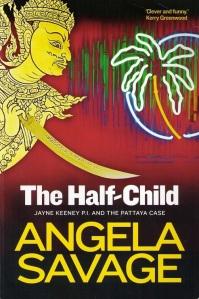 Writer Angela Savage Book Cover - The Half-Child
