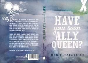 Writer Deb Fitzpatrick Book Cover - Have You Seen Ally Queen?