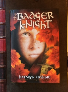 Writer Kathryn Erskine Book Cover - Badger Knight