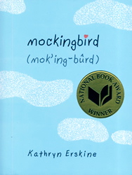 Writer Kathryn Erskine Book Cover - Mockingbird