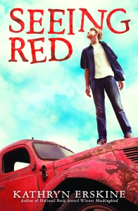 Writer Kathryn Erskine Book Cover - Seeing Red U.S. edition