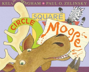 Writer Kelly Bingham Book Cover - Circle, Square, Moose