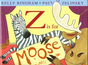 Writer Kelly Bingham Book Cover - Z Is for Moose