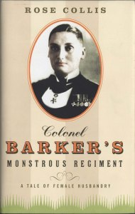 Writer Rose Collis Book Cover - Colonel Barker's Monstrous Regiment