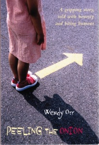Writer Wendy Orr Book Cover - Peeling the Onion