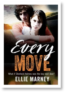 Writer Ellie Marney Book Cover - Every Move