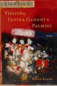Poet Kirun Kapur Book Cover - Visiting Indira Gandhi's Palmist