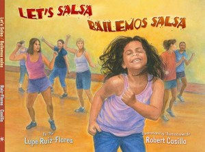 Writer Lupe Ruiz-Flores Book Cover - Let's Salsa
