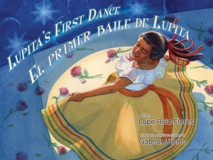 Writer Lupe Ruiz-Flores Book Cover - Lupita's First Dance